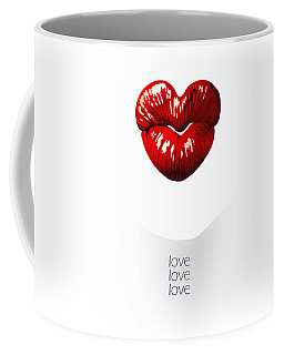 Love Poster Coffee Mug