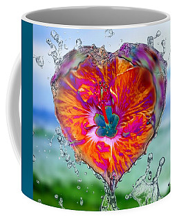 Love Makes A Splash Coffee Mug