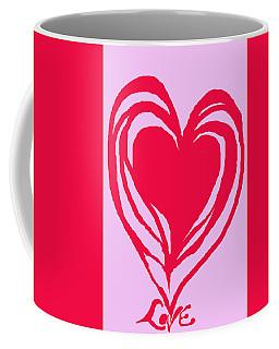 Love Coffee Mug by Mary Armstrong