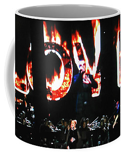 Love Me Some George Michael And Adele Coffee Mug by Toni Hopper