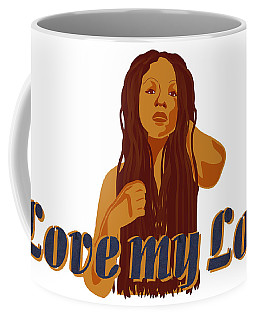 Love My Locs Coffee Mug