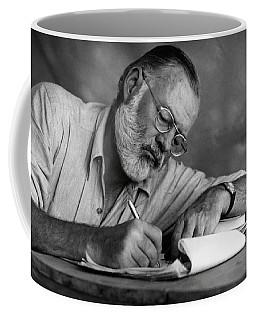 Love Of Writing - Ernest Hemingway Coffee Mug