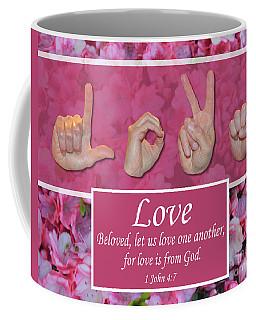 Love One Another Coffee Mug