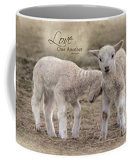 Love One Another Coffee Mug by Robin-Lee Vieira