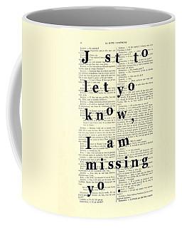 Love Poem, Valentine Gift  Coffee Mug