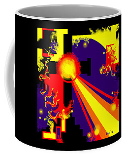 Love Poured Out Coffee Mug by Yvonne Blasy