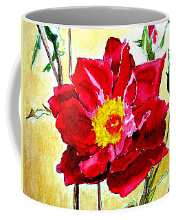 Love Rose Coffee Mug by Ana Maria Edulescu