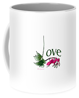 Love Shirt Coffee Mug by Ann Lauwers