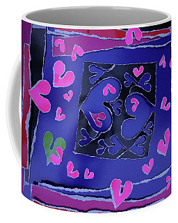 Love Soul Love Skeloton And The Subject Of Life Coffee Mug