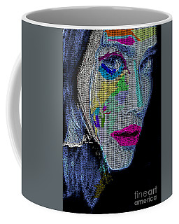 Coffee Mug featuring the digital art Love The Way You Look by Rafael Salazar