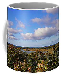 Coffee Mug featuring the photograph Love Those Fall Days by Rachel Cohen