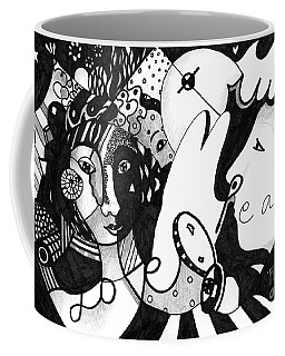 Love Truth Peace Coffee Mug