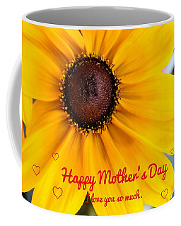 Coffee Mug featuring the photograph Love You Mama by Alison Frank