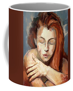 Love Yourself Coffee Mug by Carrie Joy Byrnes