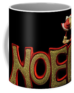 Coffee Mug featuring the photograph Lovebird Noel by Doug Wilton