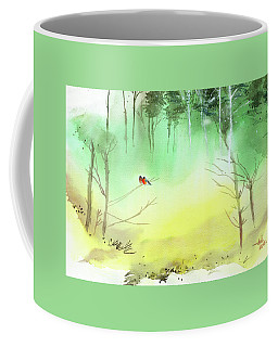 Lovebirds 3 Coffee Mug