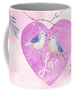 Lovebirds For Valentine's Day, Or Any Day Coffee Mug
