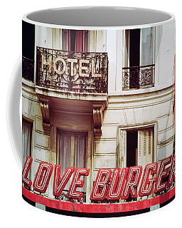 Loveburger Hotel Coffee Mug