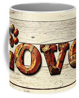 Loved Paisley Coffee Mug