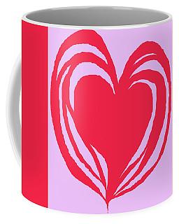 Loveheart Coffee Mug by Mary Armstrong