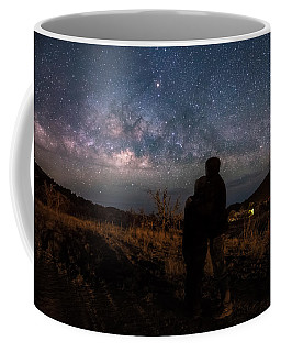 Loveing The  Universe Coffee Mug by Eti Reid