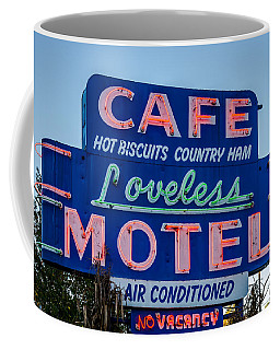 Loveless Cafe And Motel Sign Coffee Mug