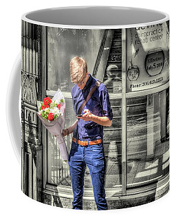 Coffee Mug featuring the photograph Loveless In Seattle by Spencer McDonald
