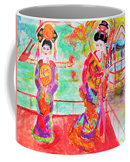 Lovely Asian Ladies Coffee Mug