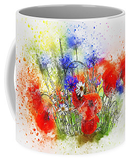 Watercolour Bouquet Coffee Mug