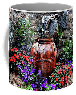 Coffee Mug featuring the photograph Lovely Garden  by Trina Ansel