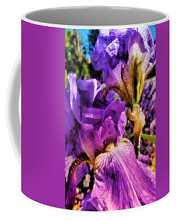 Lovely Iris Coffee Mug