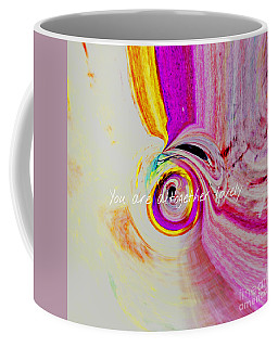 Coffee Mug featuring the mixed media Lovely by Jessica Eli