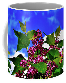 Lovely Lilac Blooms Coffee Mug by Alexas Fotos