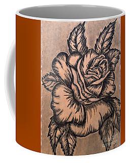Lovely Rose Coffee Mug by Francine Heykoop