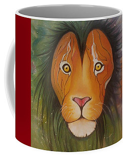 Lovelylion Coffee Mug by Anne Sue
