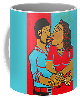 Lovers Embrace Coffee Mug