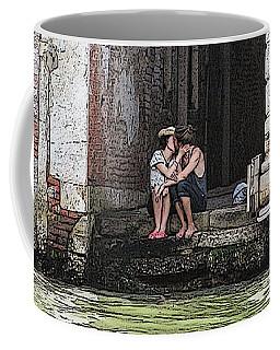 Lovers In Venice Coffee Mug