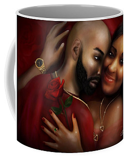 Lovers Portrait Coffee Mug