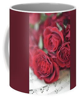 Coffee Mug featuring the photograph Love's Music by Diane Alexander