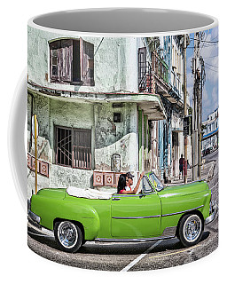 Lovin' Lime Green Chevy Coffee Mug