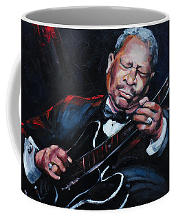 Lovin Lucille B B King Coffee Mug by Carole Foret