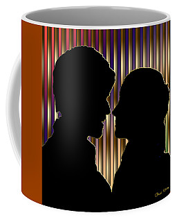 Coffee Mug featuring the digital art Loving Couple - Chuck Staley by Chuck Staley