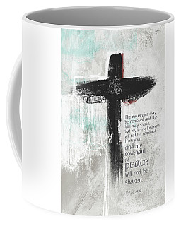 Loving Kindness Cross- Art By Linda Woods Coffee Mug