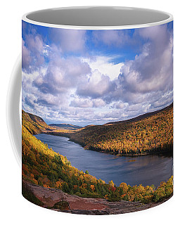 Coffee Mug featuring the photograph Loving Lake Of The Clouds by Rachel Cohen