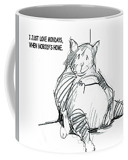 Loving Mondays Coffee Mug