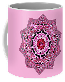 Loving Rose Mandala By Kaye Menner Coffee Mug