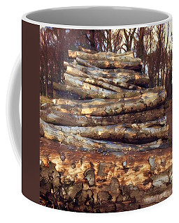 Loving The Forest  Coffee Mug by Colette V Hera Guggenheim