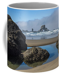 Low Tide At Ecola Coffee Mug
