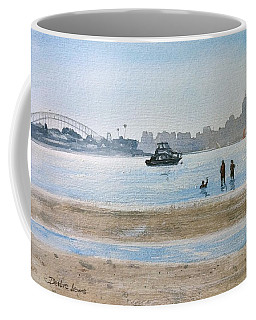 Low Tide At Rose Bay Coffee Mug