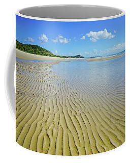 Low Tide Beach Ripples Coffee Mug